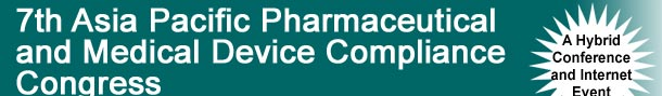 asia pacific pharmaceutical compliance congress